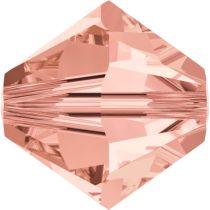 Swarovski Crystal Bicone 5328-4mm-Factory Pack- Rose Peach