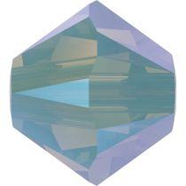 Swarovski Crystal 5328 Bicone Bead -3mm- Chrysolite Opal Shimmer 2x-1440 pcs.