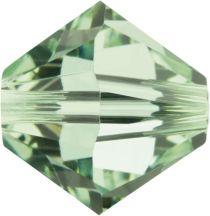 Swarovski Crystal Bicone 5328-6mm-Factory Pack-Chrysolite