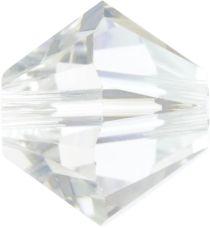 Swarovski  Bicone 5328-4mm-Crystal Moonlight
