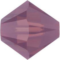 Swarovski Crystal Bicone 5328-4mm-CYCLAMEN OPAL