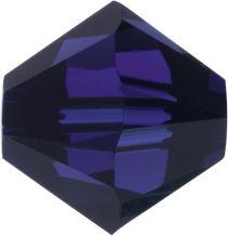 Swarovski Crystal Bicone 5328-6mm- Dark Indigo