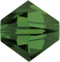 Swarovski  5328 Bicone- 3mm Crystal Fern Green