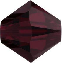 Swarovski Crystal Bicone 5328-4mm-Garnet