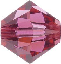 Swarovski Crystal Bicone 5328-4mm- Indian Pink