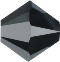 Swarovski Crystal Bicone 5328-4mm-Factory Pack- Jet Hematite