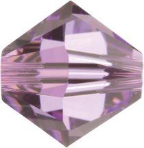 Swarovski Crystal Bicone 5328 -5 mm -Lt. Amethyst