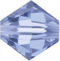 Swarovski Crystal Bicone 5328-4mm- Light Sapphire