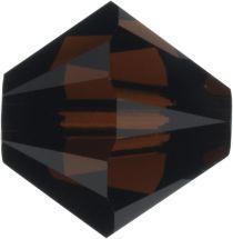 Swarovski Crystal Bicone 5328-4mm- Crystal Mocca