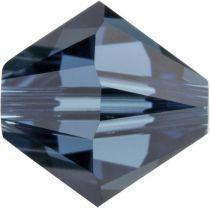 Swarovski Crystal Bicone 5328-4mm-Montana