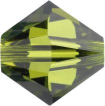 Swarovski Crystal Bicone 5328-6mm-Olivine