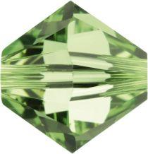 Swarovski  5328 Bicone- 3mm Crystal Peridot