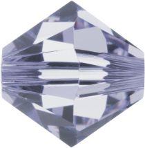 Swarovski Crystal Bicone 5328-4mm-Factory Pack- Provence Lavender