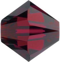 Swarovski  5328 Bicone- 3mm Crystal Ruby