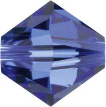 Swarovski  5328 Bicone- 3mm Crystal Sapphire