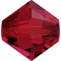 Swarovski Crystal Bicone 5328-2.5 mm - Scarlet - 1440 Pcs.