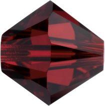 Swarovski  5328 Bicone- 3mm Crystal Siam