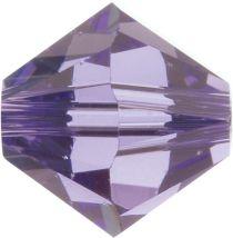 Swarovski Crystal Bicone 5328-4mm-Factory Pack-Tanzanite