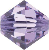 Swarovski Crystal Bicone 5328-8mm-Factory Pack - Violet