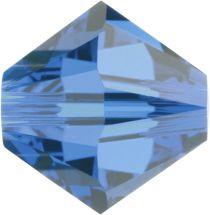Swarovski  5328 Bicone- 3mm Crystal Capri Blue