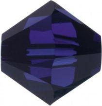 Swarovski Crystal Bicone 5328-3mm- Dark Indigo
