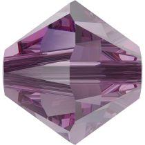 Swarovski Crystal 5328 Bicone Bead -6mm- Iris