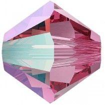 Swarovski Crystal 5328 Bicone - 4mm -Rose Shimmer