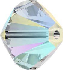 Swarovski Crystal Bicone 5328- 4 mm - Crystal Shimmer 2x