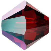 Swarovski Crystal 5328 Bicone -6mm - Siam Shimmer