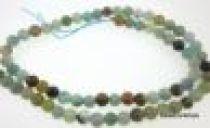 Amazonite Multicolour Round-6mm- 16