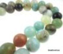 Amazonite Multicolour Round-12mm- 16