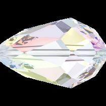 Swarovski Pear (5500) bead - 9x6mm Crystal AB