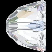 Swarovski Crystal Small Dome Beads-5542-8mm- Crystal AB