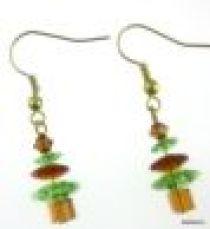 Christmas Tree Earring Kit-Peridot