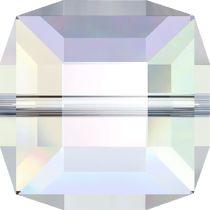 Swarovski  5601 Cube- 6mm- Crystal AB--144 Pcs.