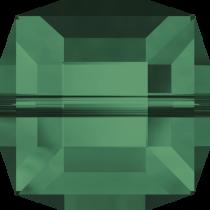 Swarovski Cystal Cubes(5601) Bead 6 mm-Emerald
