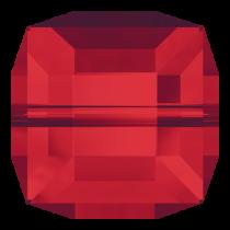 Swarovski Cystal Cubes(5601) Bead 6 mm-Lt. Siam