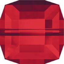 Swarovski Crystal Cube(5601) Bead-4mm -Lt.Siam