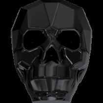 Swarovski 5750 Skull Bead -13mm- Jet