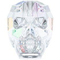 Swarovski 5750 Skull Bead -13mm- Crystal AB