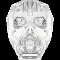 Swarovski 5750 Skull Bead -13mm- Crystal