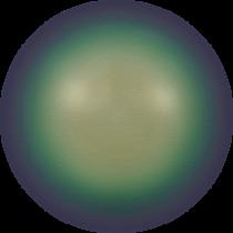 Swarovski Crystal Pearl 5810 Round 8mm- Scarabaeus Green