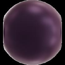 Swarovski Crystal 5810 Round -2 mm Pearl-Elderberry
