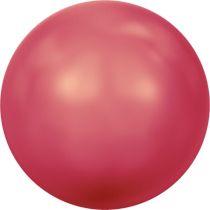 Swarovski Crystal Round 5810 MM 2,0 CRYSTAL NEON RED PEARL -200 Pcs.