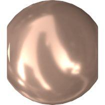 Swarovski Crystal  Pearl 5810 MM 2,0 CRYSTAL ROSE GOLD PEARL-1000 Pcs.