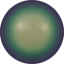 Swarovski Crystal Round 5810 MM 2,0 CRYSTAL SCARABAEUS GREEN PEARL -200 Pcs.