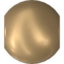 Swarovski Crystal  Pearl 5810 MM 2,0 CRYSTAL VINTAGE GOLD PEARL-1000 Pcs.