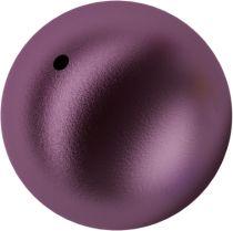 Swarovski Crystal 5810 Round -12 mm Pearl- Elderberry
