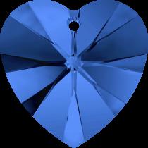 Swarovski Pendants Heart - 10mm Sapphire