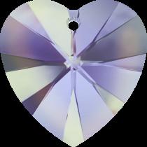 Swarovski Pendants Heart - 10mm Vitrail light